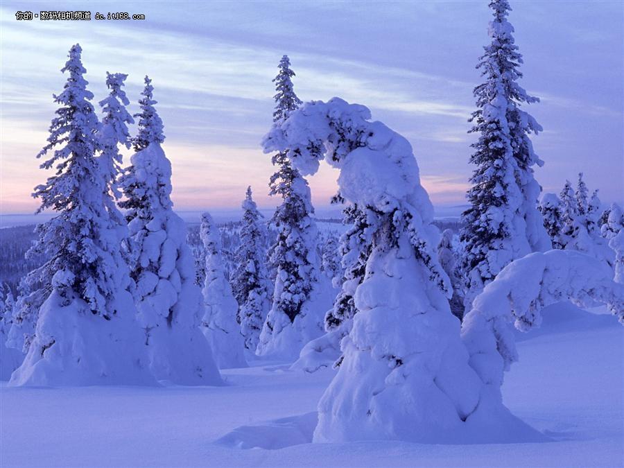 白色的童話世界 最美雪山冰川風景搜羅