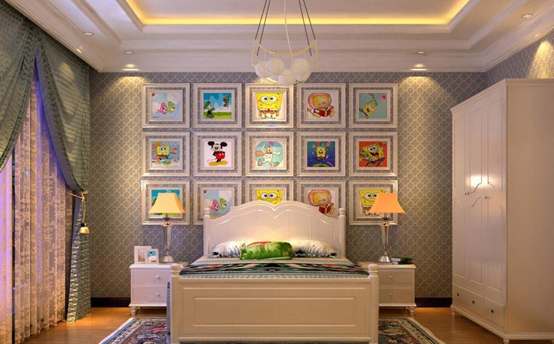 专为90后设计 六十款个性卧室装修图赏
