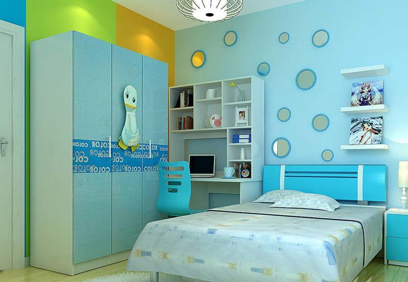 专为90后设计 六十款个性卧室装修图赏 IT168