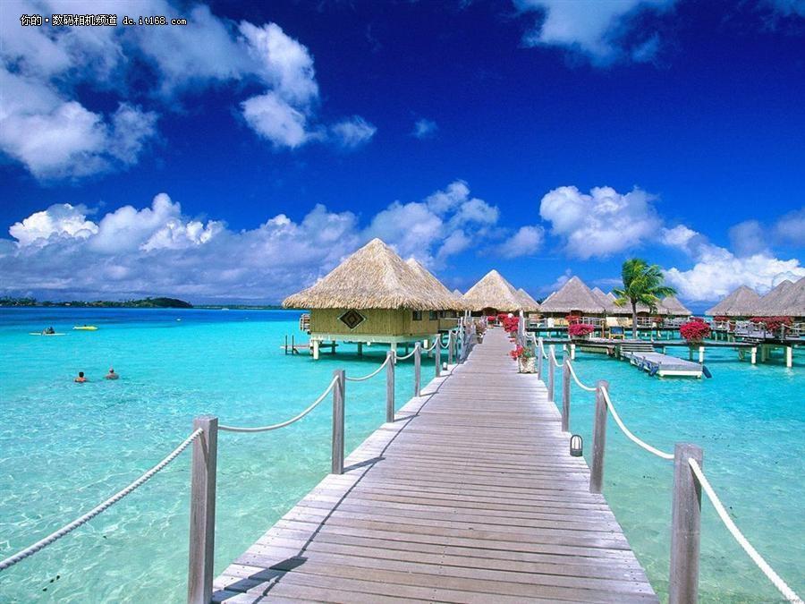 空降最美蜜月天堂巴厘岛