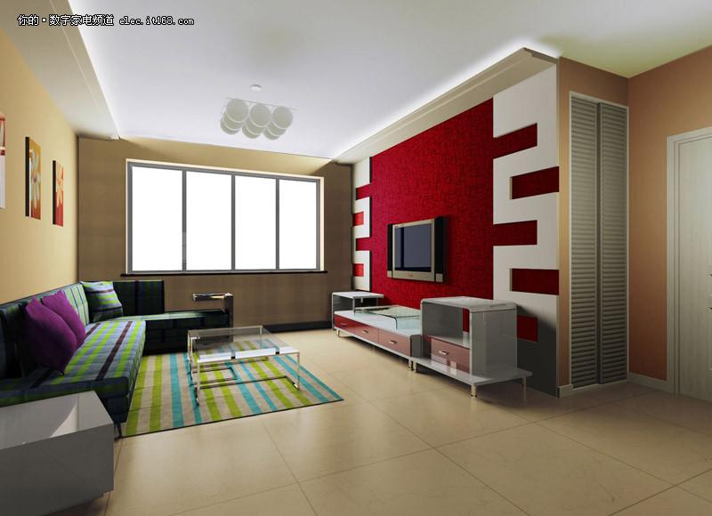 设计图赏   分享到: | (14/41) 电视背景墙是客厅装修的灵魂,无论是在