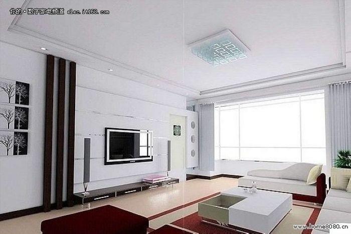 欧式风格/中式风格/装修效果图/客厅装修/手绘背景墙