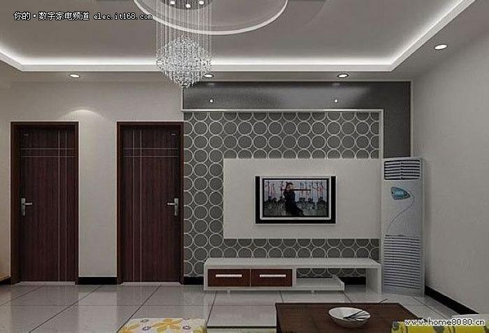 客厅装修/手绘背景墙/最新出炉电视背景墙/客厅效果图/客厅摆设