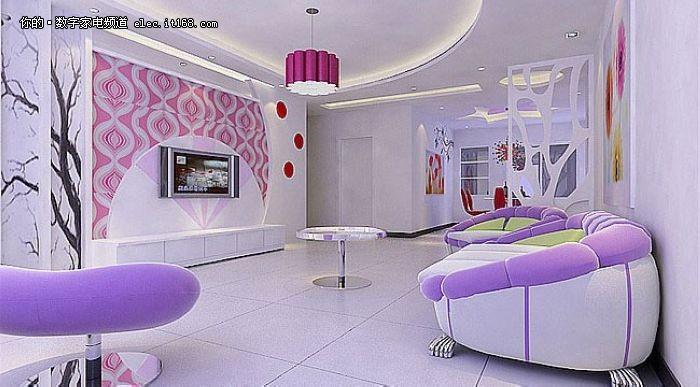 现代简约风格/田园风格/欧式风格/中式风格/装修效果图/客厅装修/手绘