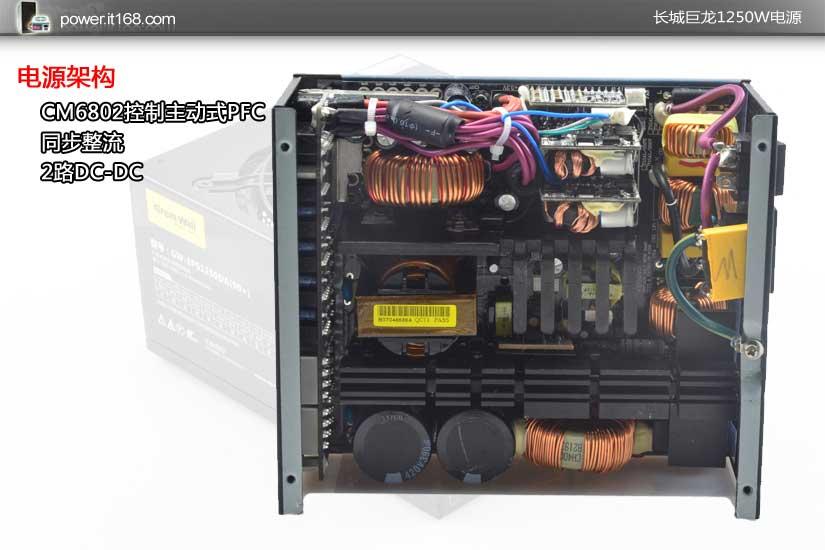 叫板国际大厂 长城巨龙1250w电源赏析