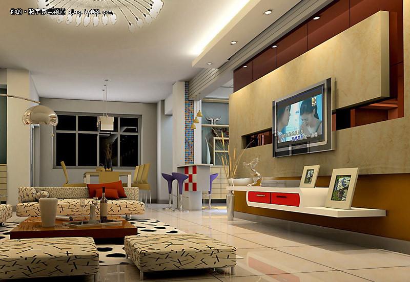 电视背景墙装修效果图大全2011经典图片