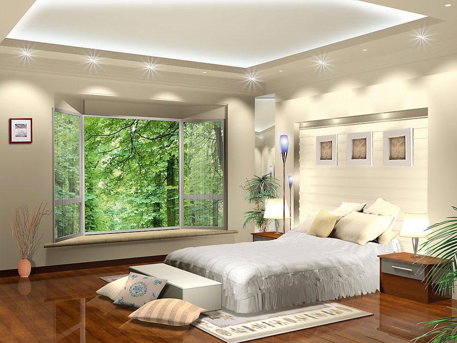 卧室绿色墙面搭配