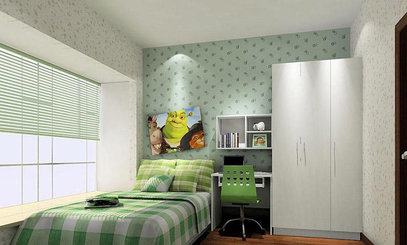 65款超可爱风卧室装修图赏