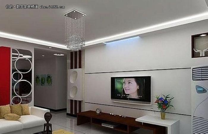 2011年电视背景墙装修效果图大全(最新)