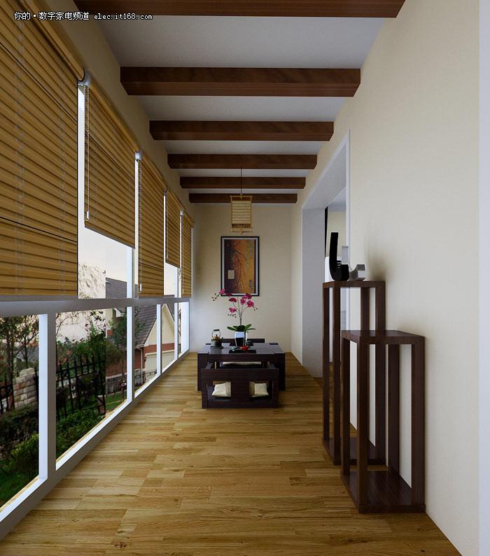 2011年最受欢迎阳台装修设计效果图大全