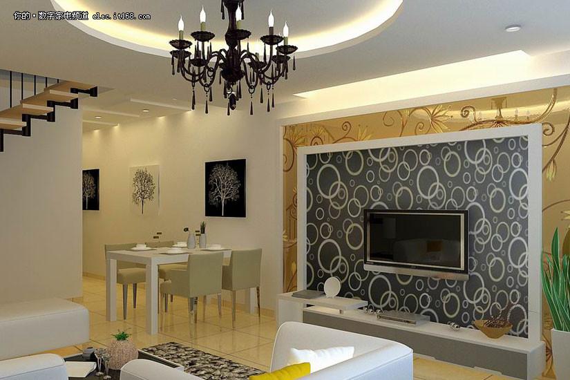 简装家居装修设计图; 时尚+豪华 30款最新家居装修设计图赏-科技频道