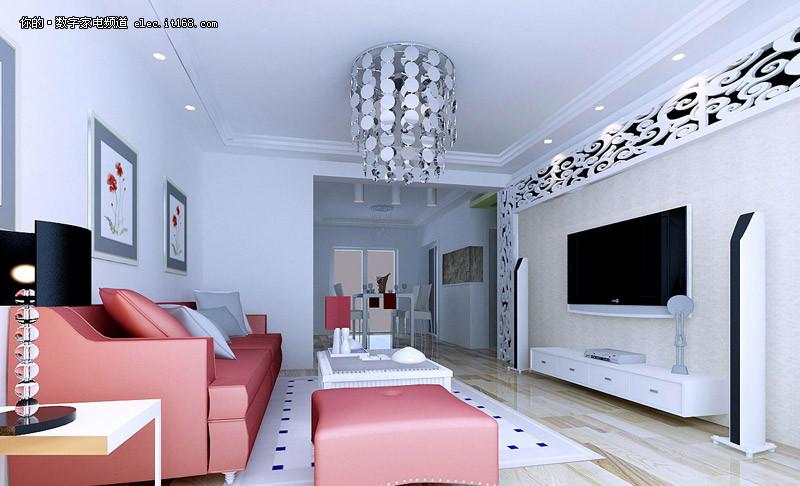 客厅电视背景墙装修效果图大全2012图片图片