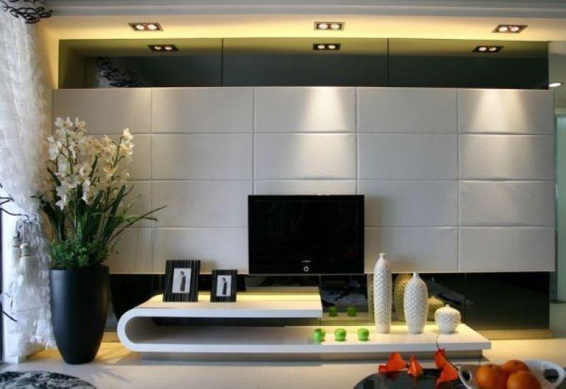 时尚 大气 最新客厅电视背景墙效果图赏