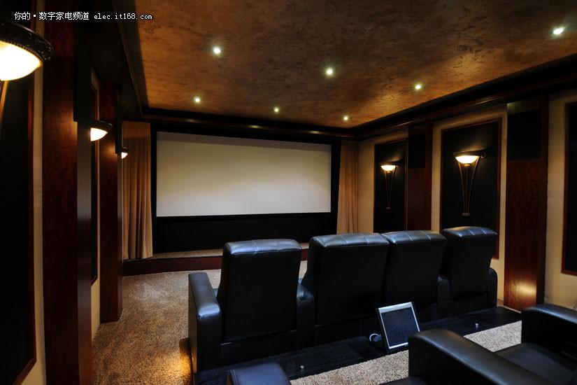 把电影院搬回家 国外家庭影院实图赏析