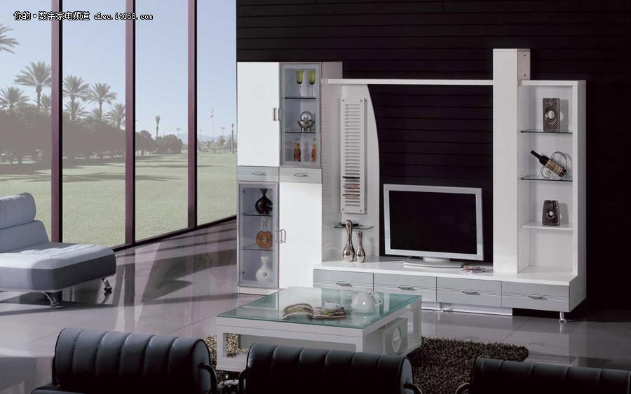 客厅电视柜装修效果图大全2011图片最新_IT1
