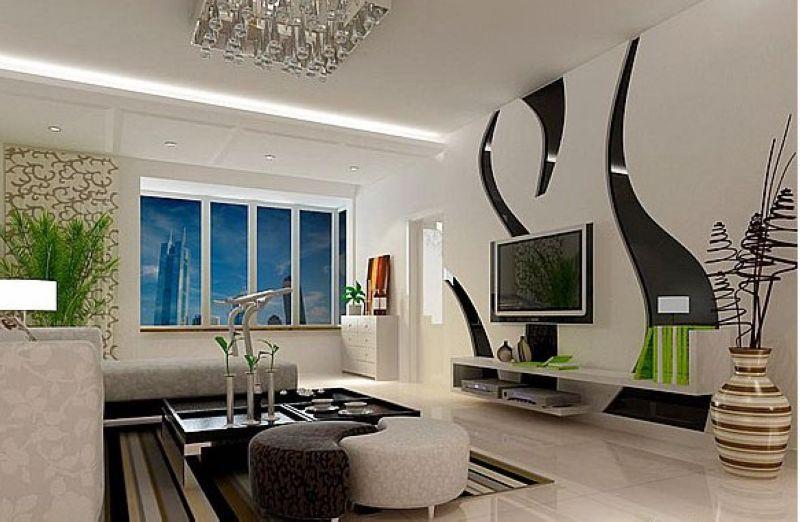 最新出炉 40款客厅电视背景墙效果图赏