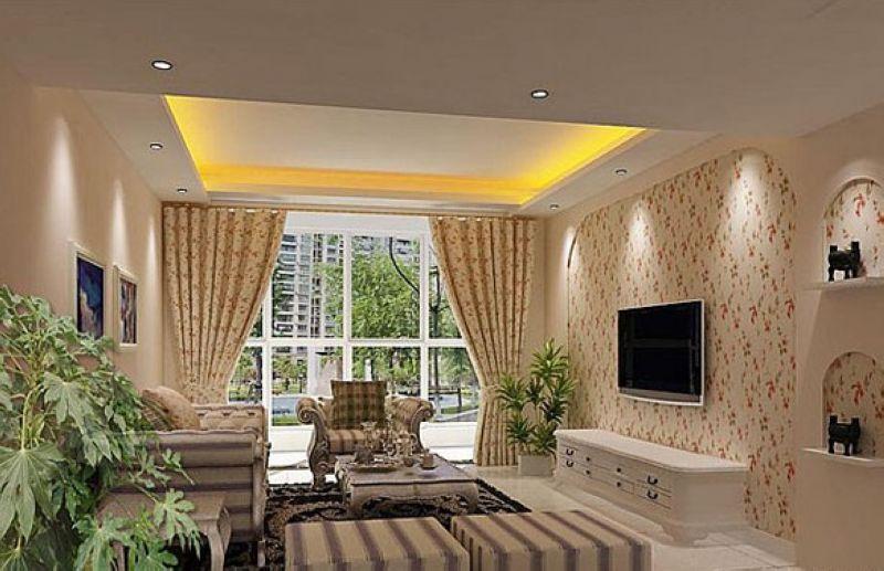 电视墙装修效果图大全2012图片 40款客厅电视背景墙效果图欣赏(10)
