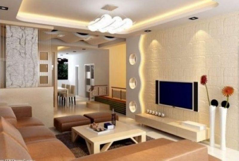 40款客厅电视背景墙效果图赏