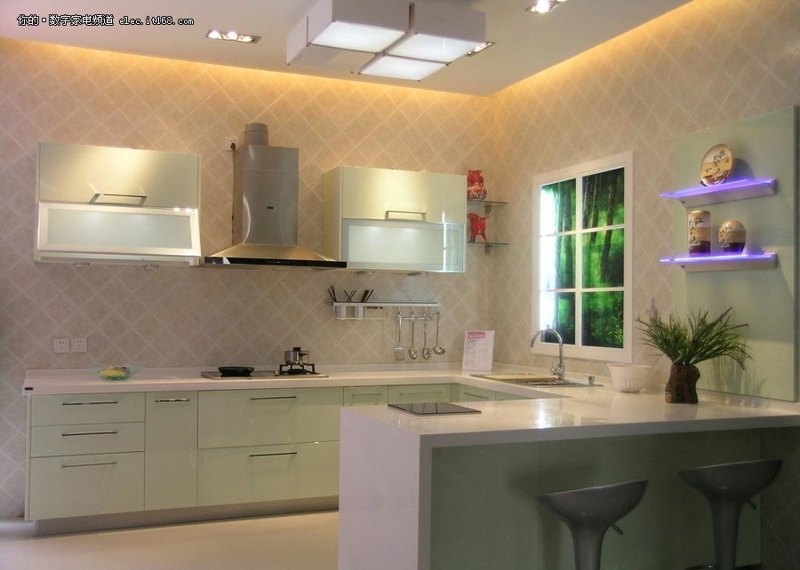 厨房装修效果图大全2012图片 最新精选