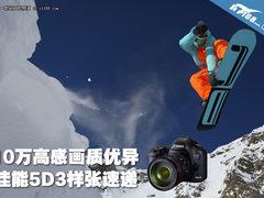 10万高感画质优异 佳能5D3实拍样张速递