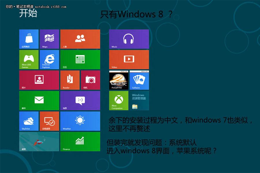 默认进入windows 8