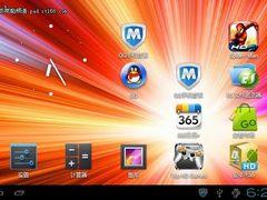 艾诺NOVO7骑士版 安卓4.0系统界面外观