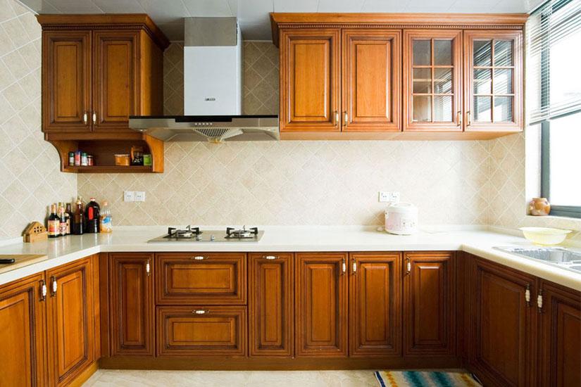 新中式风格装修效果图--厨房