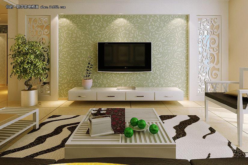 电视背景墙设计赏析   分享到: | (6/23) 壁纸漆是一种墙面艺术涂料