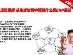 浅显易懂 从生活常识理解什么是ERP系统