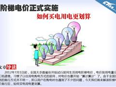 阶梯电价正式实施 如何买电用电更划算