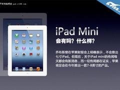 有没有/什么样? 苹果iPad mini大猜想
