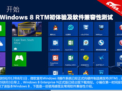 Windows 8 RTM初体验及软件兼容性测试
