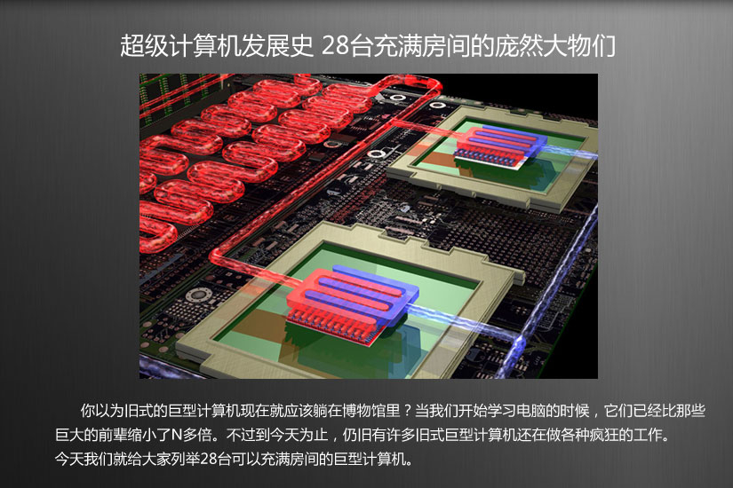 超级计算机发展史 充满房间的庞然大物