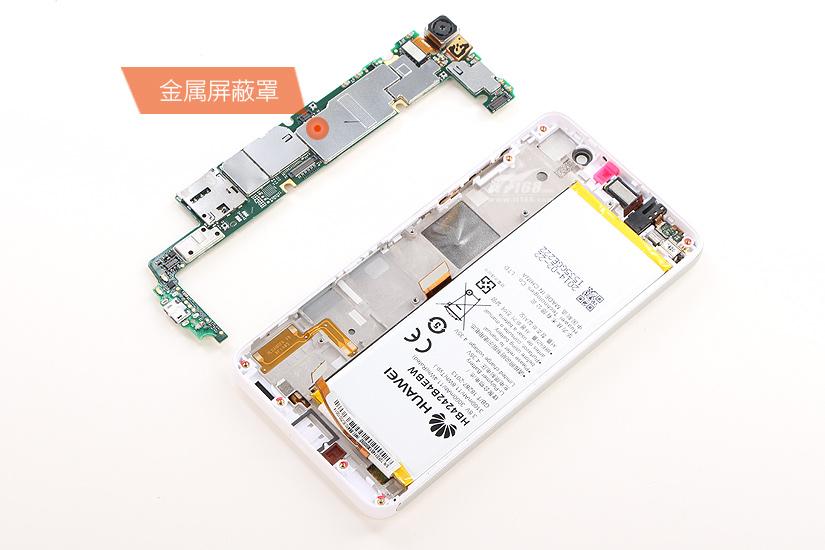 荣耀6电池拆机图解