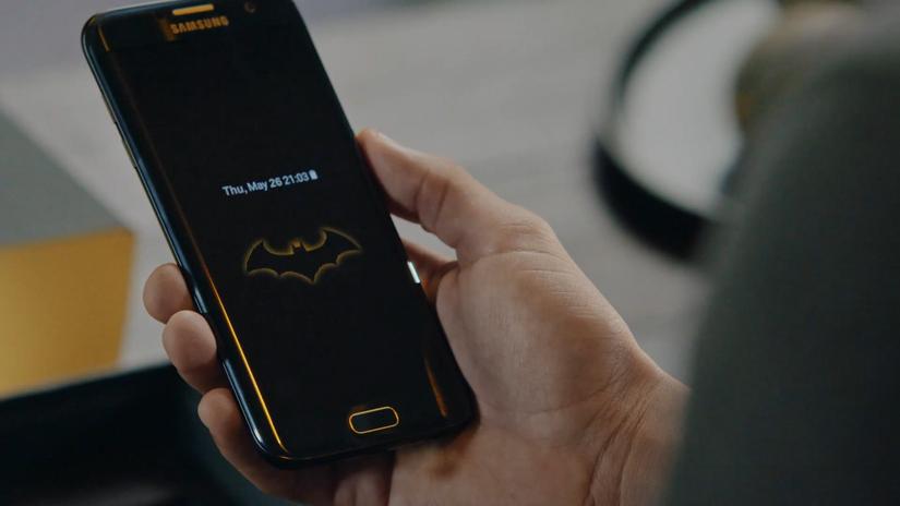 s7edge蝙蝠侠壁纸_福利来啦三星S7edge限量版蝙蝠侠主题三星
