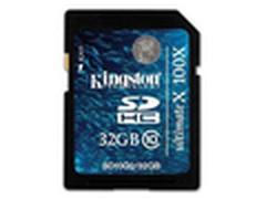 大降价 金士顿32GB SD存储卡京东129元