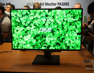 4K广色域旗舰 华硕PA329Q显示器图赏