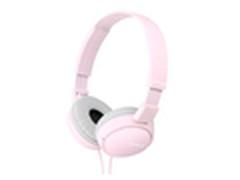 女生专用 索尼嫩粉头戴式可折叠耳机95