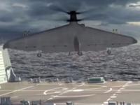一千公里的军用无人机 Tern2018年试飞