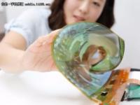 能穿在身上的屏幕 韩国研发新显示技术