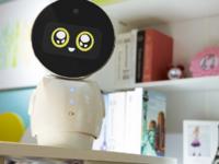 可爱呆萌风格 小忆机器人伴你高效学习