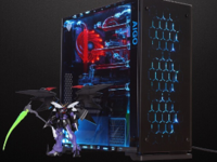 4MM加厚钢化玻璃 爱国者月光宝盒X机箱