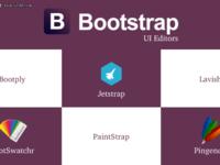 六大最受欢迎的Bootstrap UI编辑器推荐