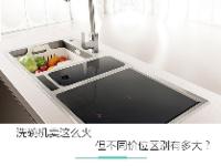 洗碗机卖这么火 但不同价位区别有多大?