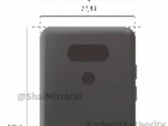 一体成型设计 LG G6背面渲染图曝光