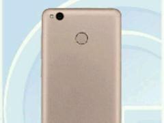 背面像红米4A 红米Note 4X实配骁龙625