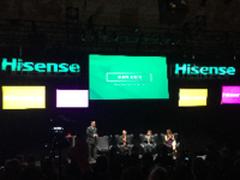 海信CES发布激光电视新品 未来转向QLED