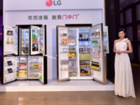 LG门中门年货冰箱 为高端品质生活代言