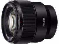 又添一款新镜头 索尼发布FE 85mm F1.8