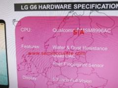 LG G6无缘骁龙835 供应紧张或全面延期